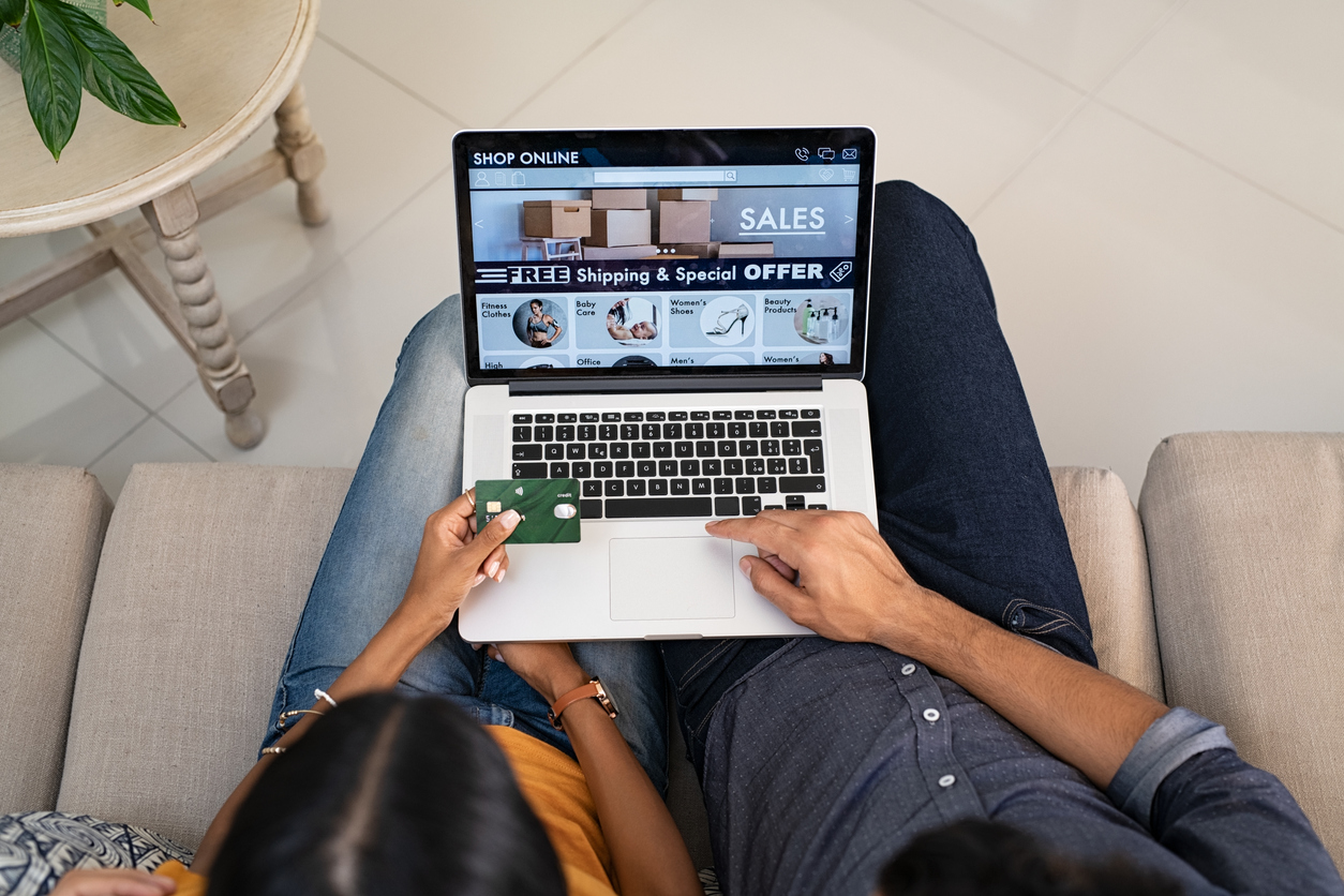 There is a growing trend of online shopping as consumers can sit at home and purchase from the comfort of their own homes