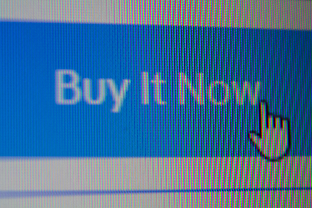 Buy it now button on social media platform